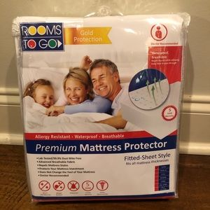NEW Rooms to Go Premium Mattress Protector Twin
